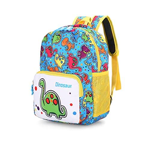 Mochila para niños pequeños con diseño de dinosaurio, para guardería, para niños y niñas de 2 a 6 años