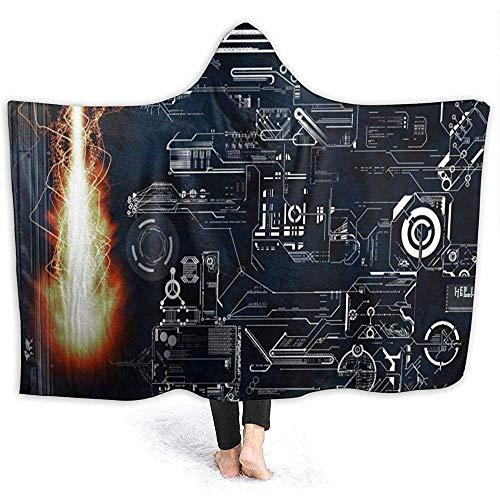 Darlene Ackerman(n) Metal Fuego Estructura mecánica Dibujo Sudadera con Capucha Manta Franela...