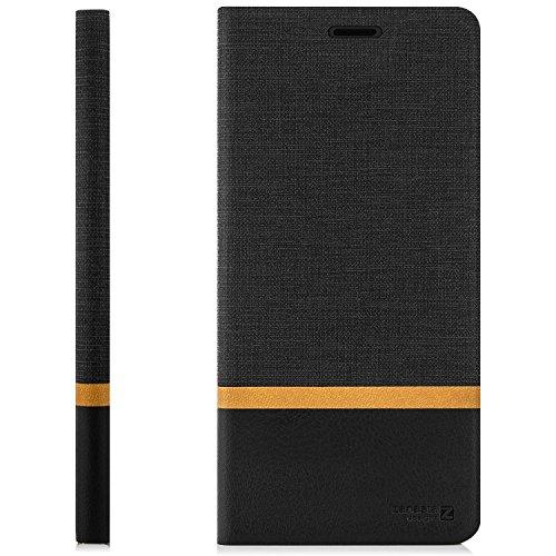 zanasta Tasche kompatibel mit Huawei Nova 2 Plus Hülle Flip Case Schutzhülle Handytasche mit Kartenfach Schwarz - 6