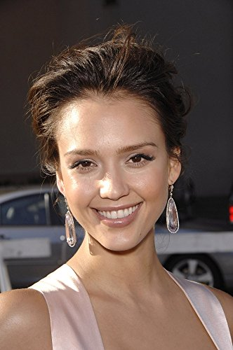 Jessica Alba At Arrivals For 2008 Alma Awards Pasadena Civic Auditorium Pasadena Ca August 17 2008 Photo By Michael GermanaEverett Collection Photo Print (8 x 10)