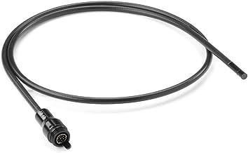 RIDGID 37098 Cabezal de cámara auxiliar de 6 mm con cable de 1 metro, Cabezal de cámara, Piezas SeeSnake de RIDGID