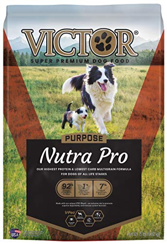 VICTOR Purpose - Nutra Pro, Dry Dog Food, 15 lb