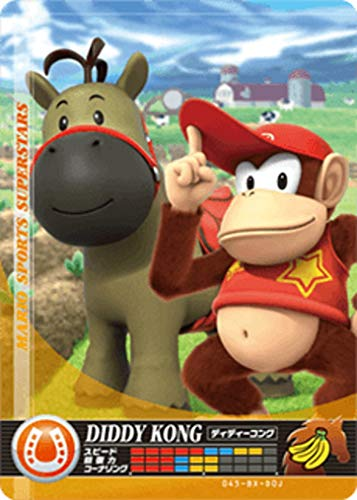 Nintendo Mario Sports Superstars Amiibo Card Horse Racing Diddy Kong for Nintendo Switch, Wii U, and 3DS