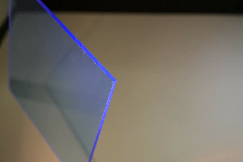 1 Pc of Blue Plexiglass #9092 Sheet Ranking TOP20 Fluoresce Direct stock discount Acrylic Color