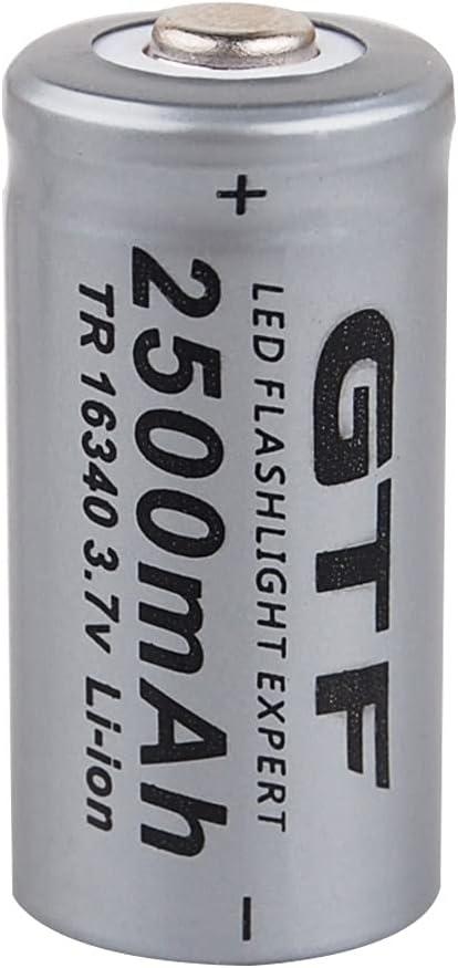 Rechargeable cheap Batteries Gtf 16340 Li-Ion 3.7V 2500Mah 163 Battery Tampa Mall