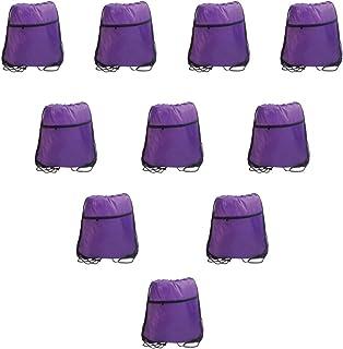 IMI 10 قطع الرباط حقائب الظهر Sinch لصالة الألعاب الرياضية السفر الحفلات الترويجية الرياضة أرجواني One_Size