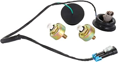 ECCPP Knock Detonation Sensor with Harness Compatible with 2001-2006 GMC Sierra 1500/2500 HD/3500 2003-2007 Chevrolet Express 1500/2500/3500