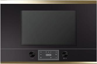 Küppersbusch mr6330.0s4empotrable de microondas, vidrio, metal, Negro, diseño Kit de oro hacha iegend