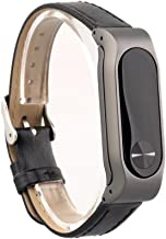 VANLUCKY-Mi Band2 Strap Band Replacement,Leather Bracelet Strap Band for XIAOMI BAND 2 Smart Watch Accessories(No Tracker)