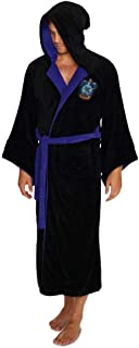 Harry Potter Official Ravenclaw Wizard Fleece Dressing Gown Bathrobe - One Size