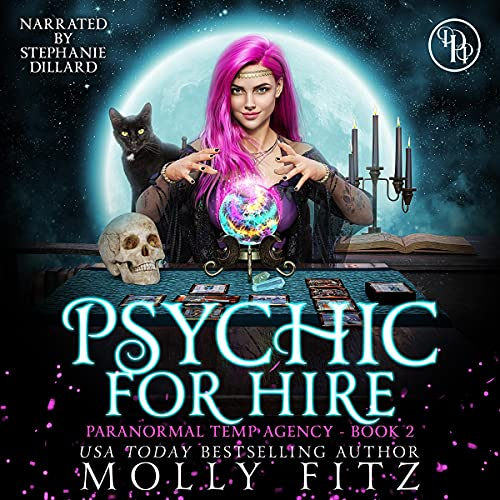 Psychic for Hire Audiobook By Molly Fitz cover art