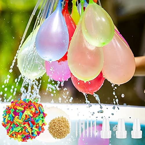 Hotelvs 1500 Palloncini d Acqua, Estate Splash Fun Gioco di Combattimento d Acqua Piscina Spiaggia Giardino Palloncini Giocattoli per Bambini e Adulti, Multicolore