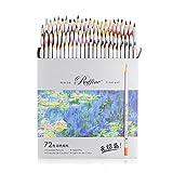 Marco lápiz non-toxique madera Soluble en el agua color conjunto 4120–24CB para adultos Libros para Colorear (y todos los lápices de color, color 72 Couleur