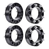 Ai CAR FUN Wheel Spacers 4 PCS 8x6.5 (130mm) 2' Inch Thick 9/16' Studs 8 Lug...
