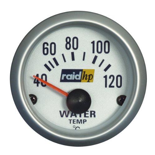 Raid HP 660220 Wassertemperaturanzeige, Zusatzinstrument Silver Line