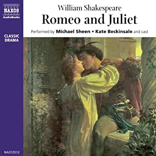 Romeo and Juliet                   By:                                                                                                                                 William Shakespeare                               Narrated by:                                                                                                                                 Michael Sheen,                                                                                        Kate Beckinsale,                                                                                        full cast                      Length: 2 hrs and 50 mins     51 ratings     Overall 4.5
