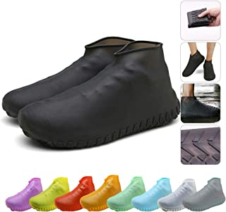 Nirohee Silicone Shoes Covers, Shoe Covers, Rain Boots Reusable Easy to Carry for Women, Men, Kids.