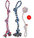 XL DOG ROPE TOYS FOR AGGRESSIVE CHEWERS - LARGE DOG BALL FOR LARGE AND...
