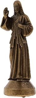 CAMLEO Mini Jesus Statue Home Decor Holy Religious God Figurine Magnetic Sculpture Desktop Decoration Gift