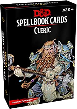 Spellbook Cards Cleric Dungeons & Dragons