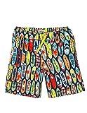 Hatley Board Shorts Pantalones Cortos de baño premamá, (Surfboards), (Talla del Fabricante: 2 años) para Niños