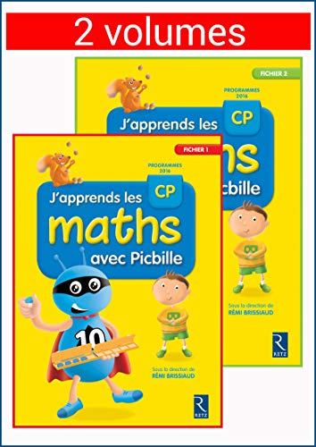 Maths CP J'apprends les maths avec Picbille