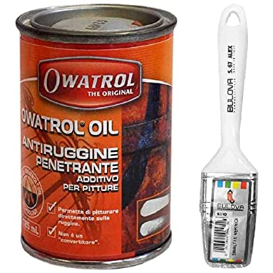 Foto di Owatrol Owatrol-Rustol Ato antiruggine multifunzione Additivo per pittura (125ml con pennello)