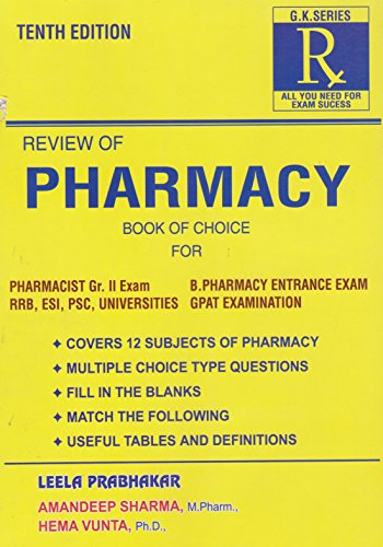 Review of Pharmacy 10 Edition