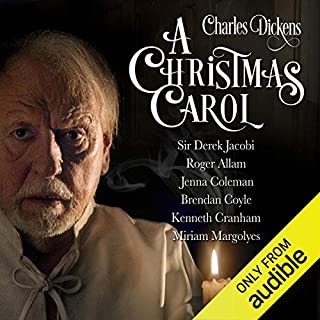 A Christmas Carol                    By:                                                                                                                                 Charles Dickens,                                                                                        R. D. Carstairs - adaptation                               Narrated by:                                                                                                                                 Sir Derek Jacobi,                                                                                        Kenneth Cranham,                                                                                        Miriam Margolyes,                   and others                 Length: 3 hrs and 31 mins     3,423 ratings     Overall 4.6