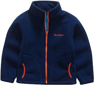 0443c6a0435ee Vestes de Baseball Bébé Garçon - Polaire Manteau Enfant Chaud Confortable  Outwear Col Montant Jacket Vêtements