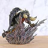 Monster Hunter World Cover Monsters Nergigante Dragon Statue PVC Figure Modèle Jouet
