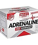 Why Sport Adrenaline Preworkout - Integratore alimentare con aminoacidi, creatina, taurina, vitamina B6