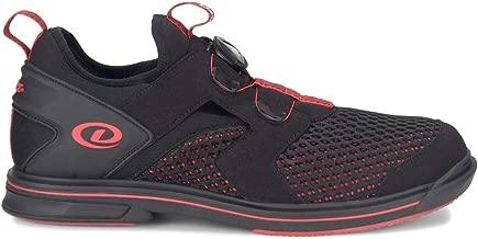 Dexter Mens Pro BOA Black/Red Bowling Shoes
