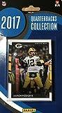 2017 Donruss NFL Football Quarterbacks Collection Special Edition Factory Sealed 10 Card QB Set Including Tom Brady, Aaron Rodgers, Carson Wentz, Ben Roethlisberger, Dak Prescott plus and Others