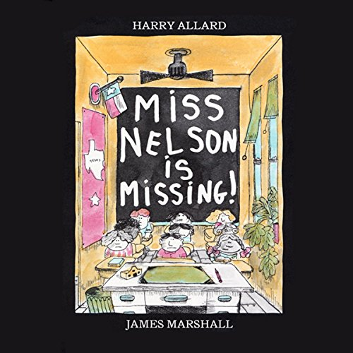 Miss Nelson is Missing audiobook cover art