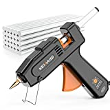 KEMAISI Hot Glue Gun 100W 5 Grade Temperature Adjustable with 30PCs Hot Glue Sticks, Professional...