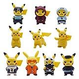 FANDE 10 PCS Pikachu Cake Topper Kit, Toppers Decoración Tarta de...