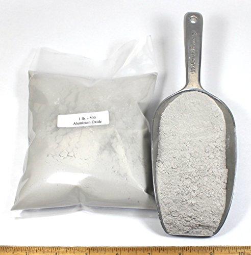 500 Aluminum Oxide Grit: 2lbs
