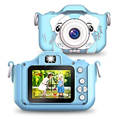 Sinceroduct Kids Camera, 20.0MP Digital Dual Camera Rechargeable with 2.0 Inch IPS Screen,32GB SD Card Included, Ideal Gift for 3-12 Years Old Girls Boys Gifts