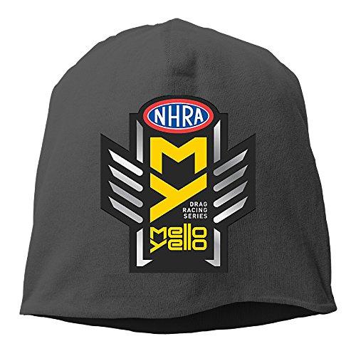 RALEND NHRA Drag Racing Beanie Cap Hat Black