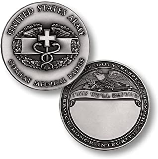 Combat Medical Badge Engravable Challenge Coin