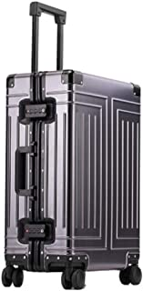 High-Grade Aluminum-Magnesium Rolling Suitcase, Very Suitable for Boarding Travel Suitcase 100%