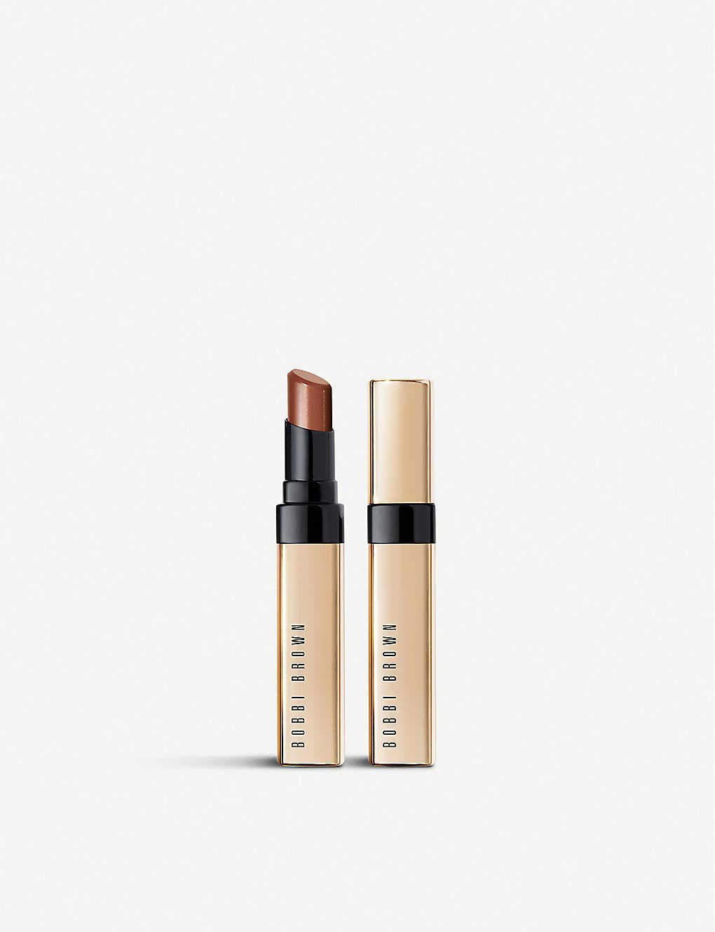 Bobbi Brown famous Gorgeous Luxe Shine Intense - Honey Lipstick Bold