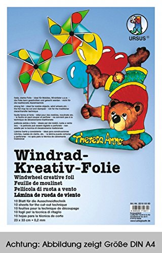 Mobile-Folie f. Windowcolor 33x46cm