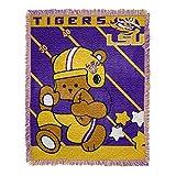 LSU Tigers Baby Woven Jacquard Throw Blanket, 36' x 46'