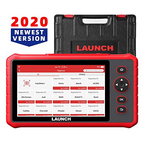 LAUNCH Scanner CRP909X with 15 Reset Functions Diagnostic Tool All Systems Scan Tool SAS/EPB/BMS/ABS Bleeding/Oil Reset,7.0'' Touchscreen OBD2 Scanner Android 7.1-Based Wi-Fi One-Click Free Update