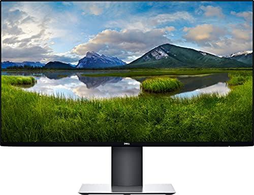 Dell UltraSharp 27″ QHD 2560 x 1440 IPS LED Monitor with Infinity Edge Bezels – HDMI 1.4, DisplayPort 1.4, USB 3.0 – Height-Adjustable/Tilt/Swivel Display – Gray