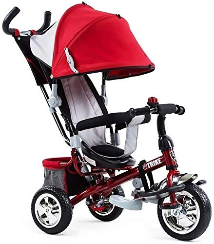 Great Deal! GPWDSN Tricycle for Kids Toddler, Kids Tricycle Bicycle Light Kid Stroller for 2 3 4 Yea...