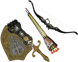 Children Simulation Archery Toy Kids Bows Sword Shield Combination Set