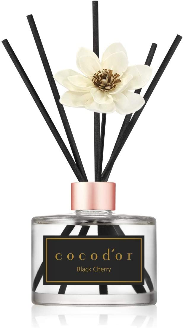 Cocodor White Phoenix Mall Flower Reed Diffuser Black 6.7oz Cherry Genuine 200ml